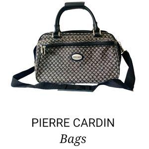 Vintage Pierre Cardin canvas duffel bag
